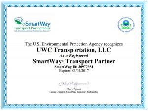 Smartway certificate